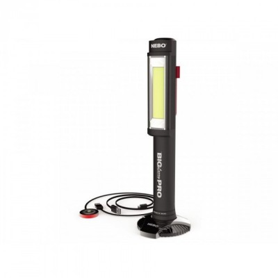 NEBO BIG LARRY PRO Ricaricabile 500 Lumens COB LED (c/display)
