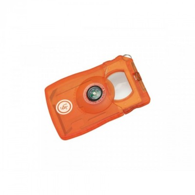 SURVIVAL CARD TOOL ORANGE