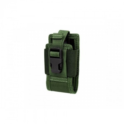 """CLIP-ON 4.5"""" PHONE HOLSTER GREEN"""