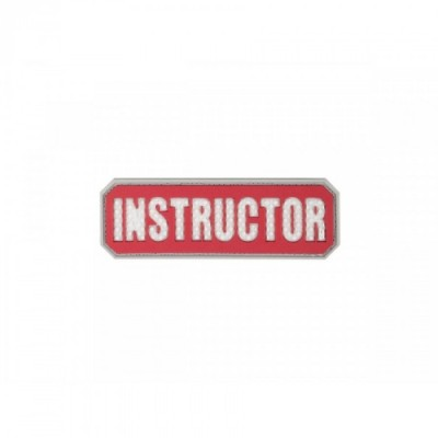 INSTRUCTOR PATCH RED