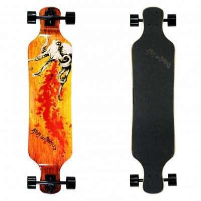 "Atom 39"" Drop-Deck Longboard - Octopus"