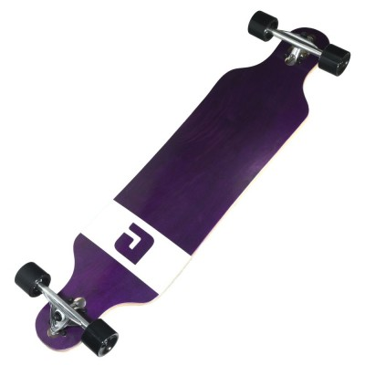 Atom Drop Through Longboard - 40 Inch Veneer