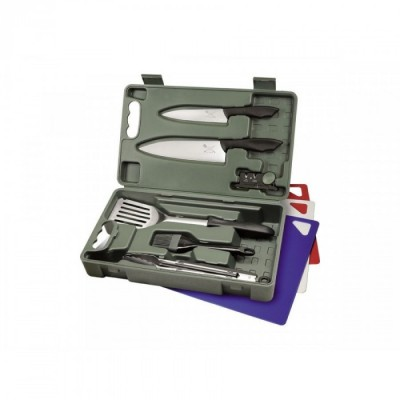 CUT-N-QUE SET BARBECUE pz.10