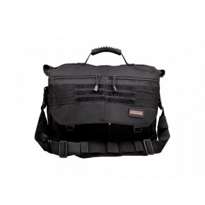 HUMVEE BRIEF CASE BAG BLACK