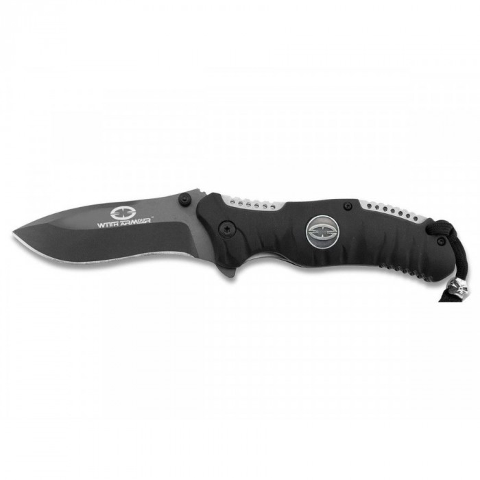 Witharmour Knife Coltello Caccia Outdoor Knife EAGLE CLAW BLACK