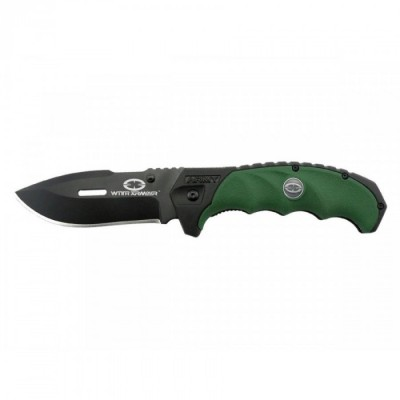 Witharmour Knife Coltello Caccia Outdoor PUNISHER GREEN