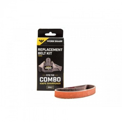 Work Sharp COMBO KNIFE SHARPENER - KIT NASTRI RICAMBIO