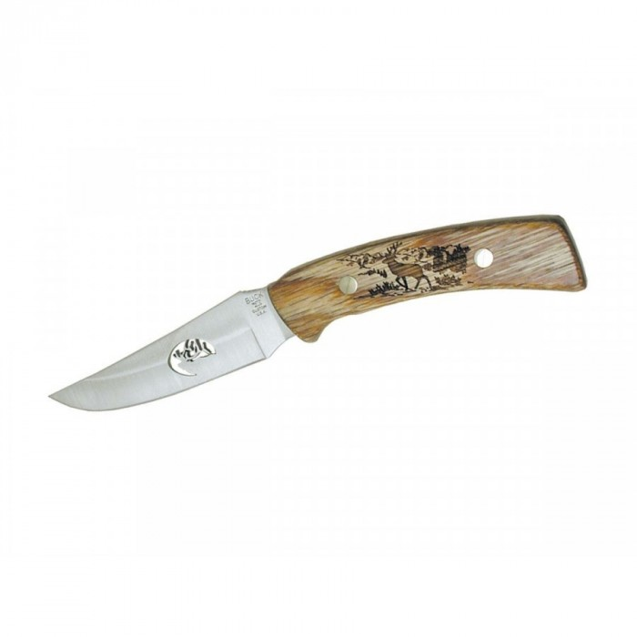 Buck MINI MENTOR ELK LASER CUT 475E
