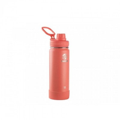 Takeya ACTIVES INSULATED BOTTLE 18oz / 530ml CORAL (51158)