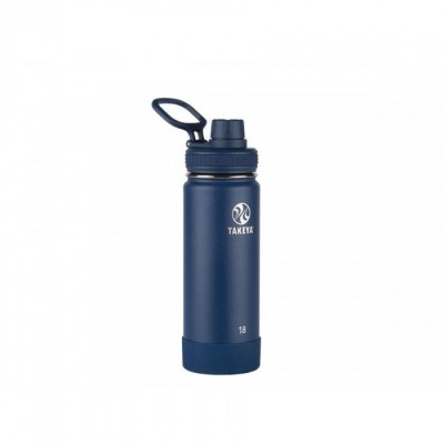 Takeya ACTIVES INSULATED BOTTLE 18oz / 530ml MIDNIGHT (51064)