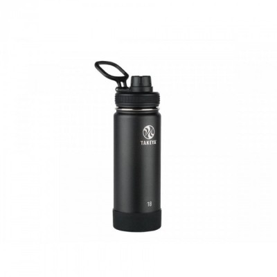Takeya ACTIVES INSULATED BOTTLE 18oz / 530ml ONYX (51060)
