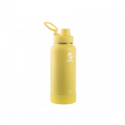 Takeya ACTIVES INSULATED BOTTLE 32oz / 950ml CANARY (51175)