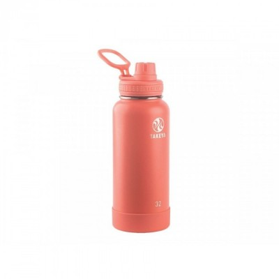 Takeya ACTIVES INSULATED BOTTLE 32oz / 950ml CORAL (51176)