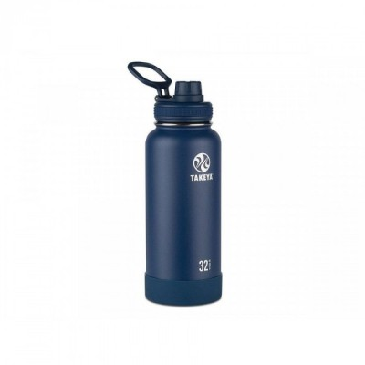 Takeya ACTIVES INSULATED BOTTLE 32oz / 950ml MIDNIGHT (51024)