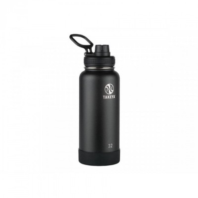 Takeya ACTIVES INSULATED BOTTLE 32oz / 950ml ONYX (51020)
