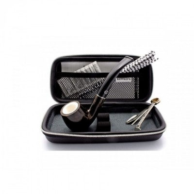 KIT Wood Pipe Rattray's PIPA Tabacco STARTER JOY BR 8M CURAPIPE FILTRI CASE