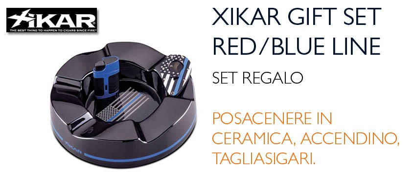 Xikar Blue-Red Line